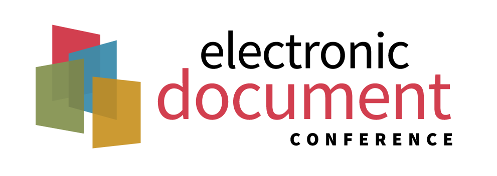 Electronic Document Conference logo